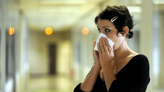 Lungebetennelse symptom