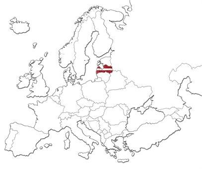 Latvia kart