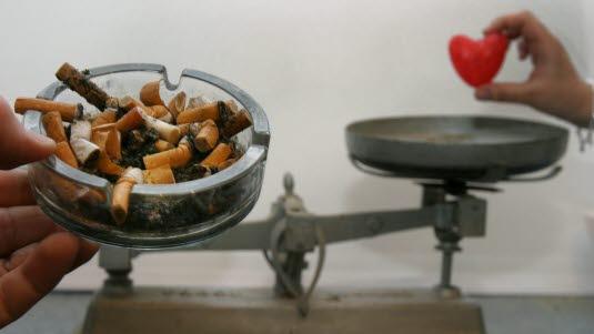 vektøkning ved røykeslutt