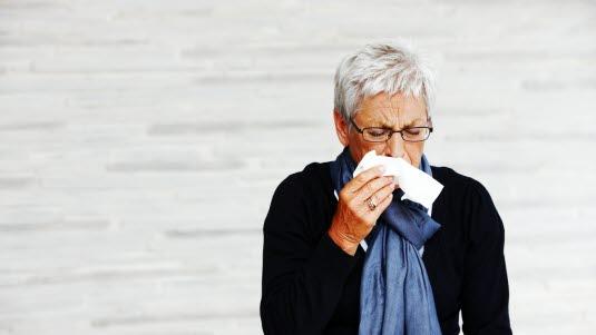 kur mot forkjølelse
