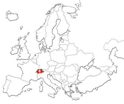 Sveits kart