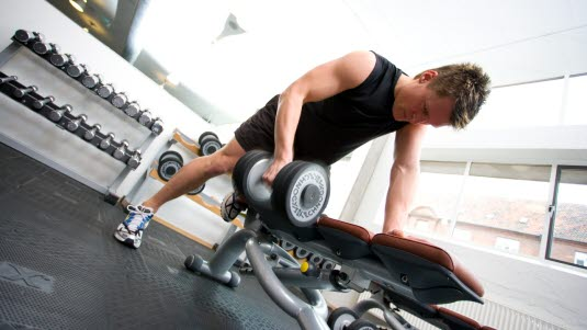 høyt blodtrykk trening