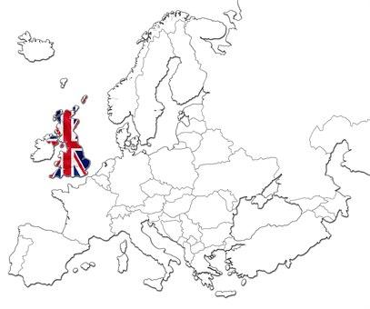 Storbritannia kart