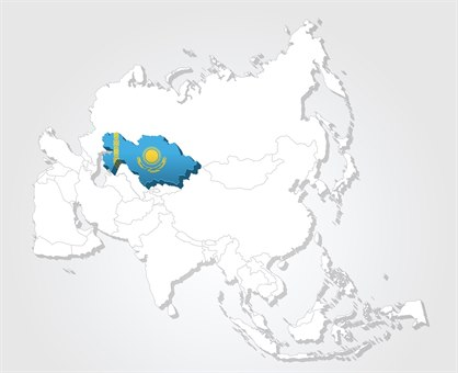 Kasakhstan kart