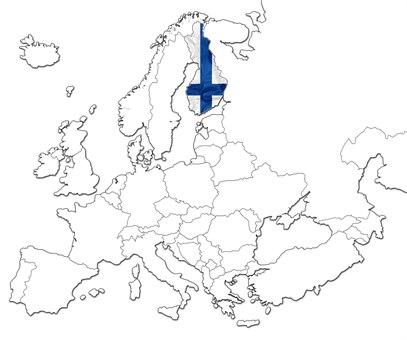 Finland kart