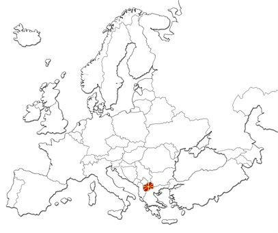 Makedonia kart