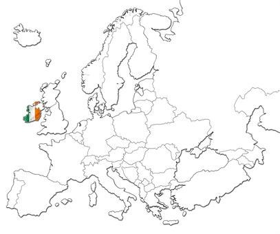 Irland kart