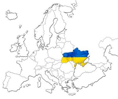 Ukraina kart