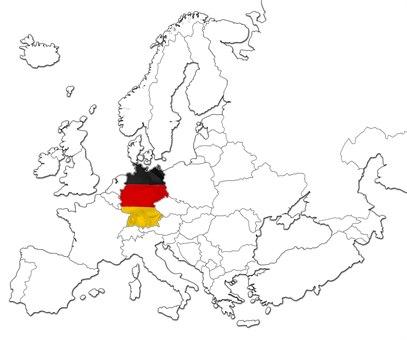 Tyskland kart