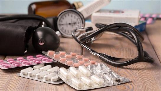 medisiner mot høyt blodtrykk bivirkninger