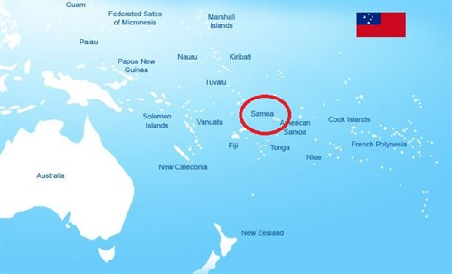 Vest-Samoa