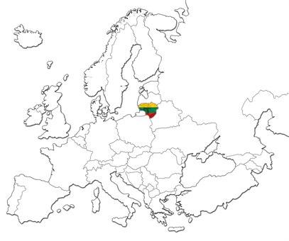 Litauen kart