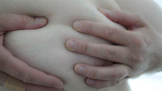 såre brystvorte ikke gravid
