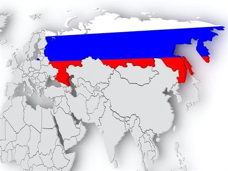 Russland kart