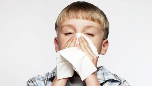 hoven hals uten feber