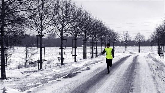 bør man trene når man er forkjølet